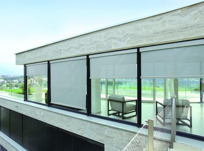 toldo vertical para decoracion exterior
