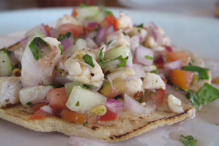 ceviche comida mexicana
