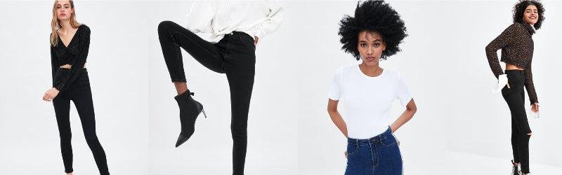 tendencia de pantalones de cintura altos
