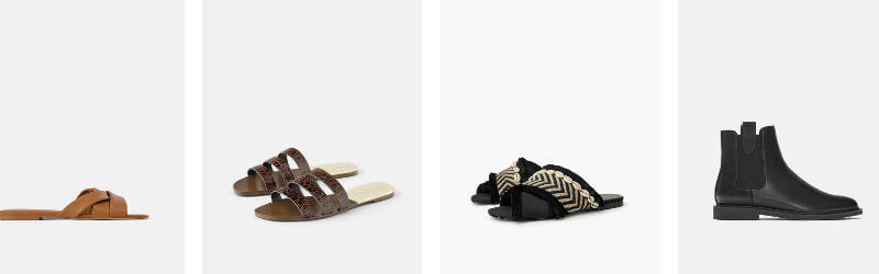 zapatos planos moda