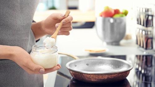 cocinar recetas aceite de coco