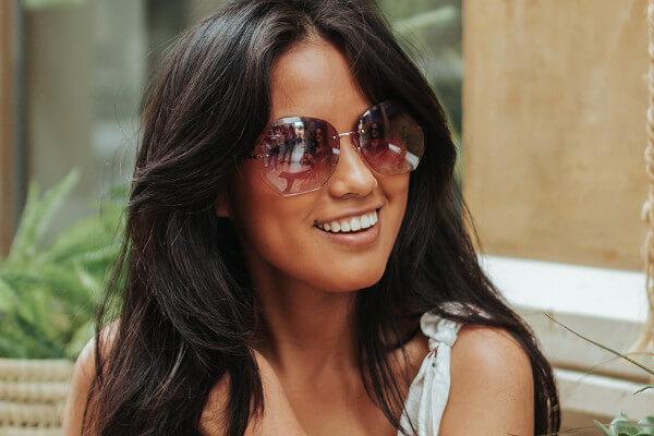 gafas de sol geométricas para mujer
