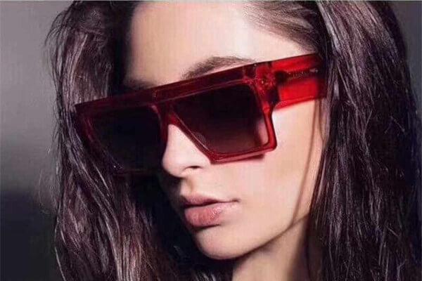 gafas de sol rectangulares mujer